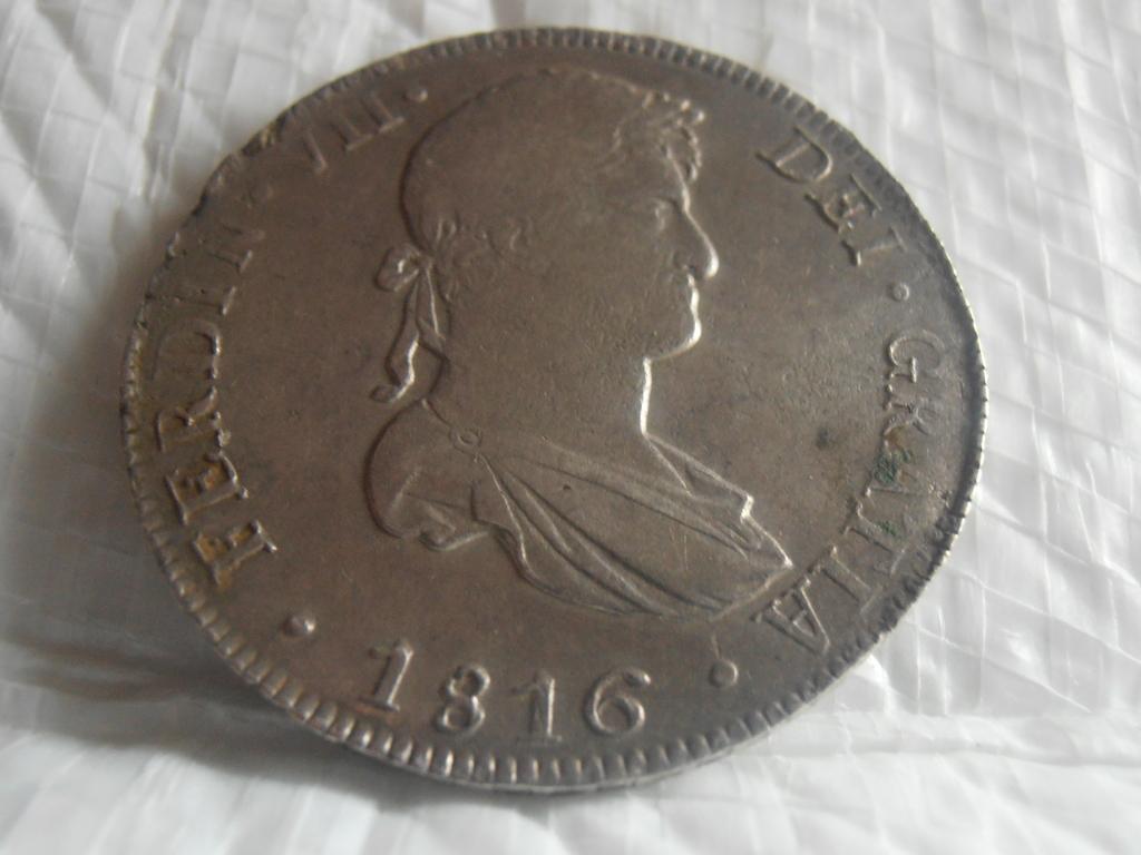 8 Reales 1816.  Fernando VII. Lima P9090019