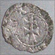 Dinero de Aragón. Jaime II. (1291-1327). Sariñena. Image
