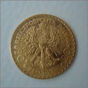 20 Zlotych 1925 POLONIA ,Dedicada a Lluis  Image
