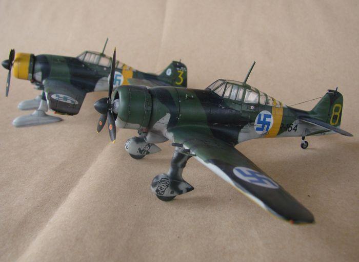 Finski Fokkeri D.XXI, Special Hobby, 1/72 DSC01478