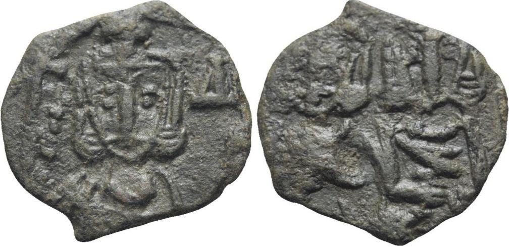 40 Nummi de Constantino V y León IV. Const_v_y_leon_iv