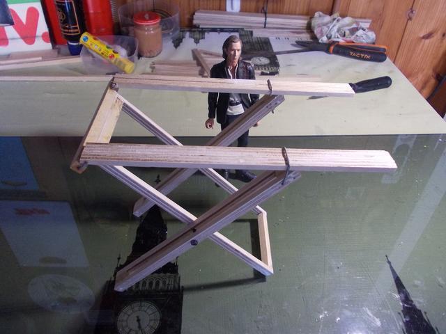 Diorama: Taller mecánico clásico, escala 1/10 DSCN6269