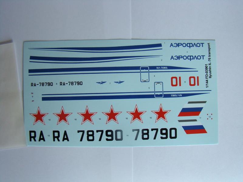Ил-76 МД   TRUMPETER  М1:144 DSC07193