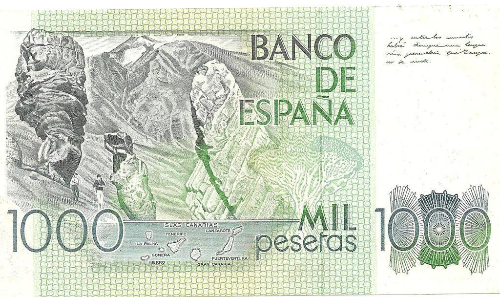 1000 Pesetas, 1979 Image
