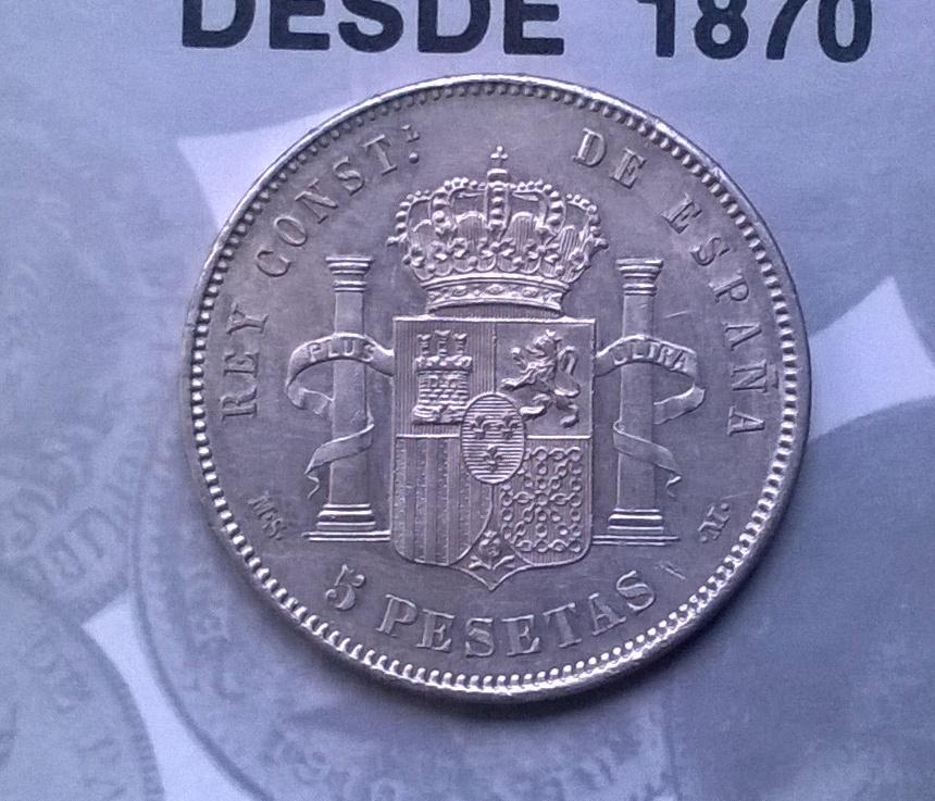 5 pesetas 1885*87 MSM WP_20150110_006