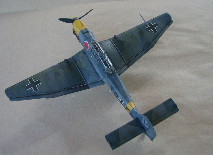 Ju-87B-2 Stuka, Fujimi, 1/72 DSC00348