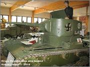 Советский легкий танк Т-26, обр. 1933г., Panssarimuseo, Parola, Finland  26_014