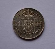 1 real 1853. Isabel II. Barcelona DSC00769