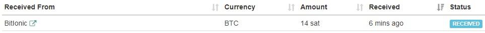 Bitionic - hasta 0.00000100 BTC por clic - Sin mínimo - Pago por FaucetHub Bitlonic