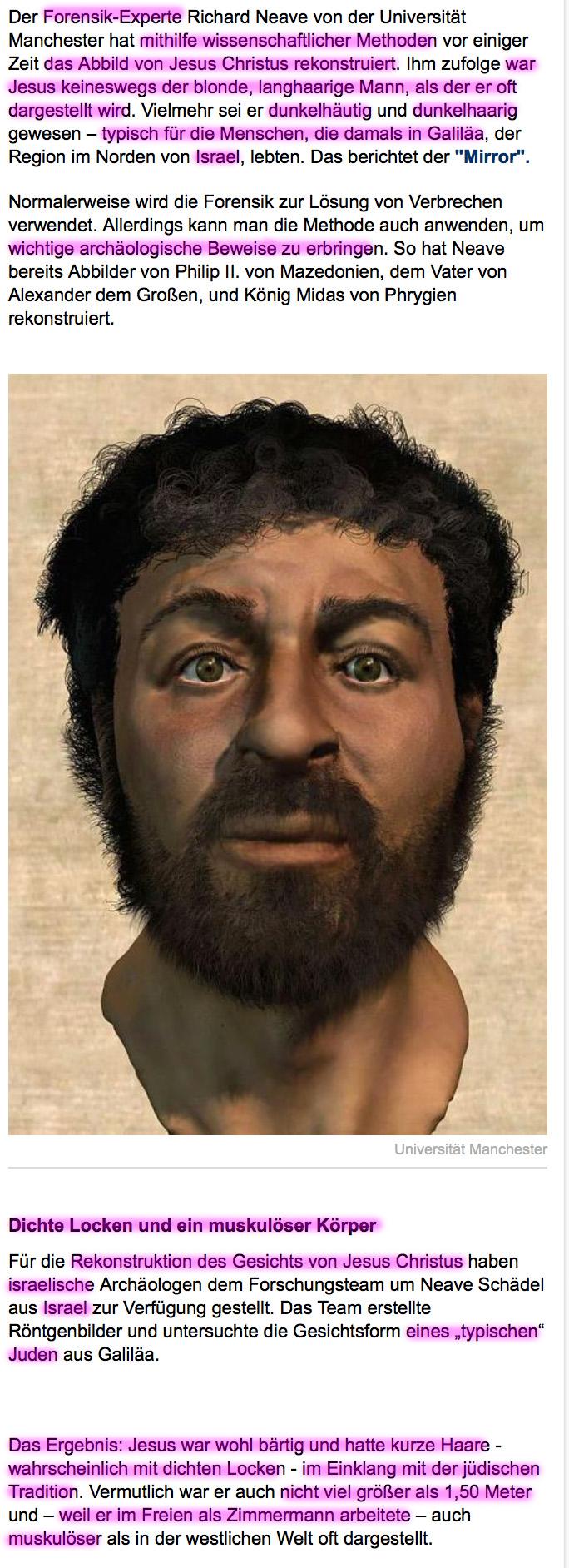 Menschen stammen NICHT vom Affen ab! Jesus
