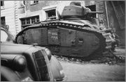 Камуфляж французских танков B1  и B1 bis Char_B_1_bis_55_Bearn_II