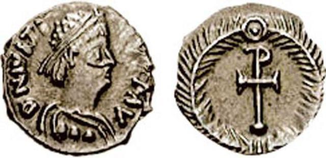 Denominación de las monedas de Bizancio. 1ª parte Cuarto_de_silicua