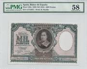 Colección de billetes españoles, sin serie o serie A de Sefcor Murillo_anverso