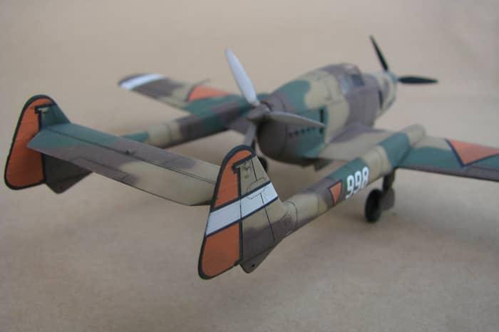 Fokker D-XXIII, RSmodels, 1/72 DSC02918