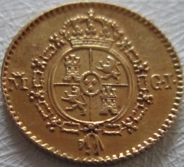 1/2 ESCUDO, DURILLO, O CHATO DE FERNANDO VII 1817 EBC Reverso_medio_escudo_1817_EBC