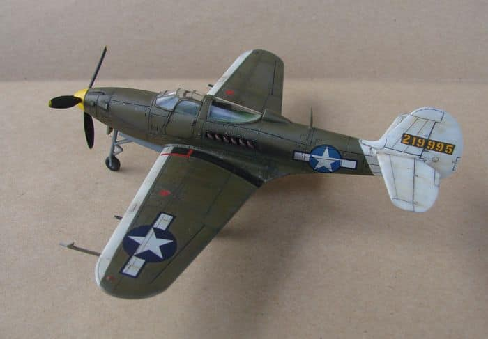P-39Q Airacobra, 1/72, Academy (rebuild) DSC02935
