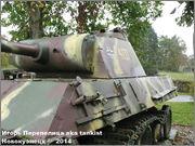 "Немецкий тяжелый танк PzKpfw V Ausf.G  ""Panther"",  rue D'Erezee, Manhay, Belgique Panther_Manhay_187"