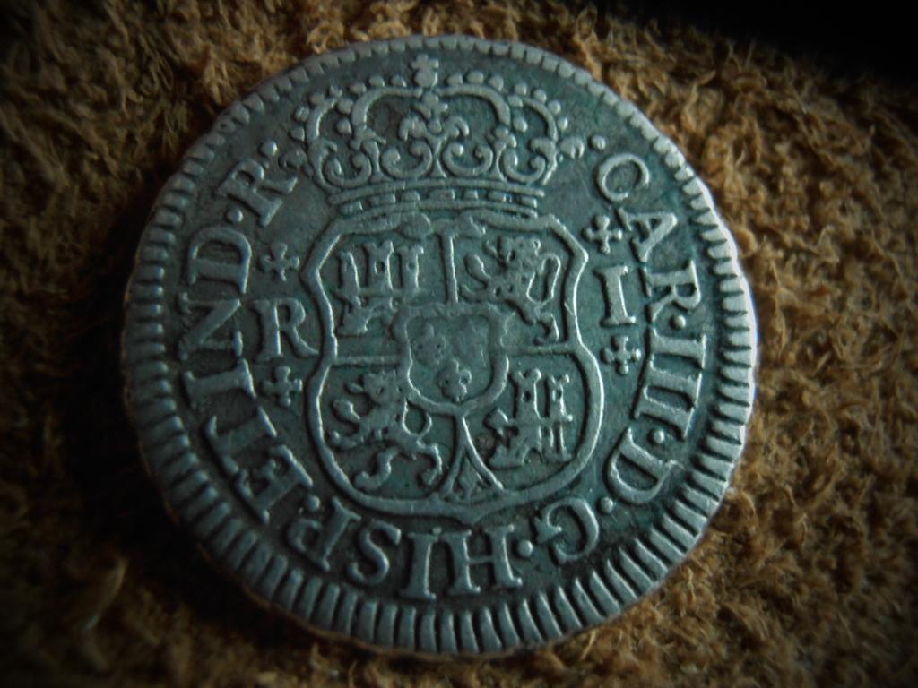 1 Real columnario Carlos III,ceca Mexico 1765 P9190012