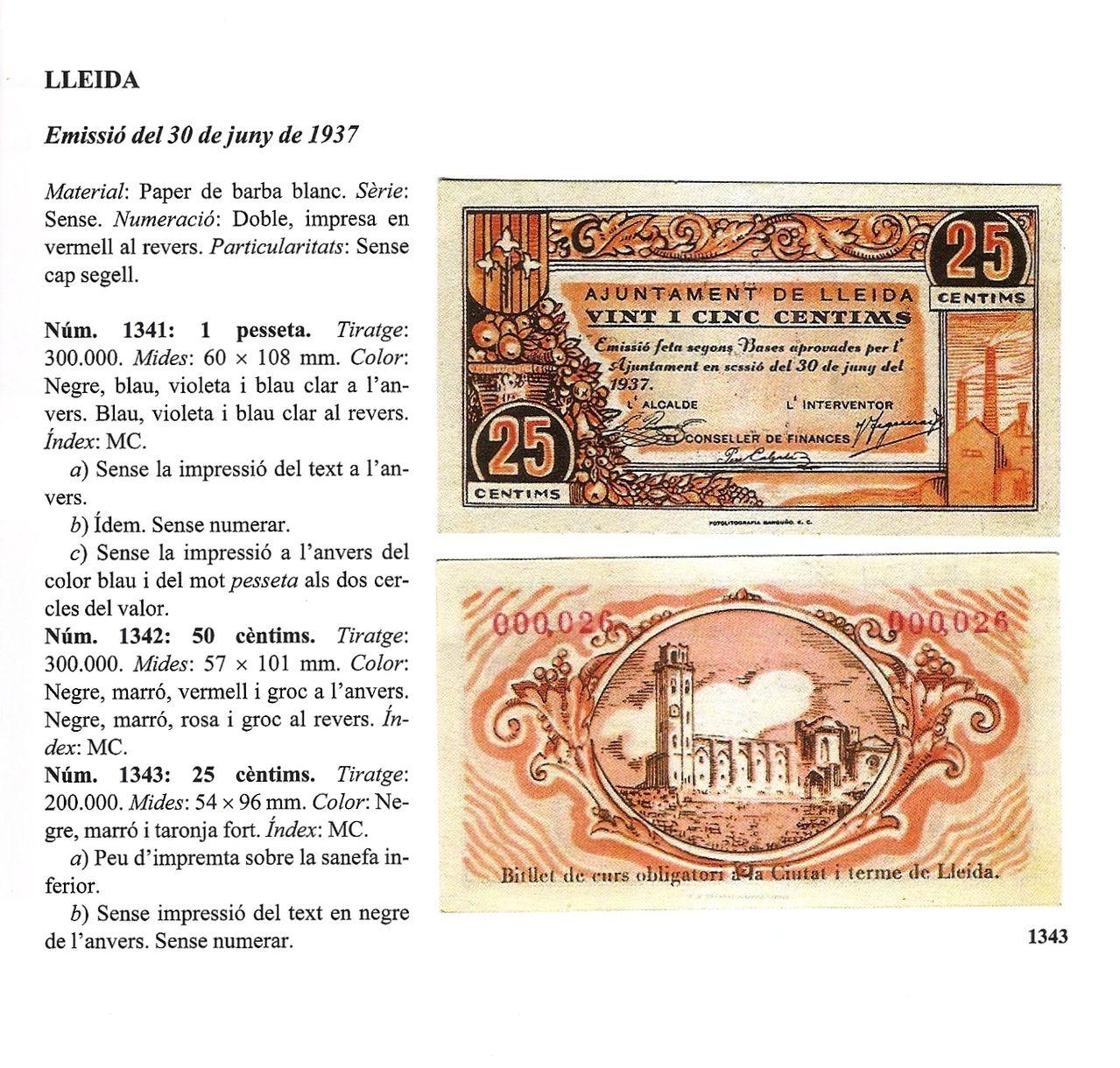 Billetes de Lleida capital. Escanear0011