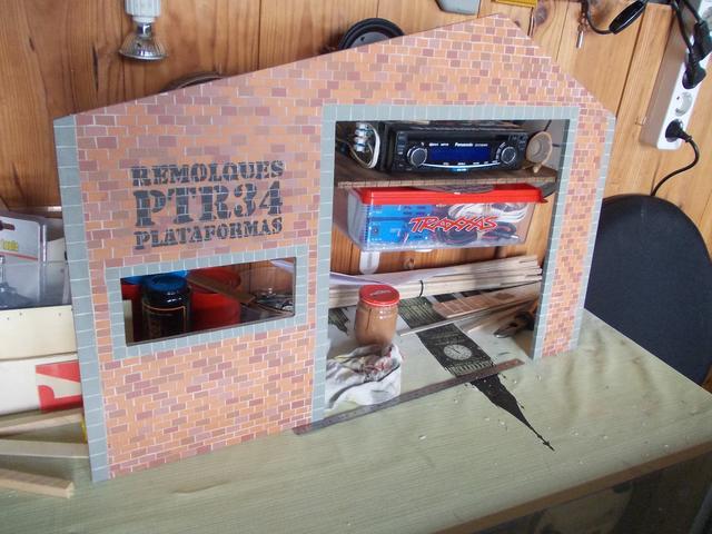 Diorama: Taller mecánico clásico, escala 1/10 DSCN6252