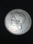 5 Pesetas 1896 Alfonso XIII IMG_6189