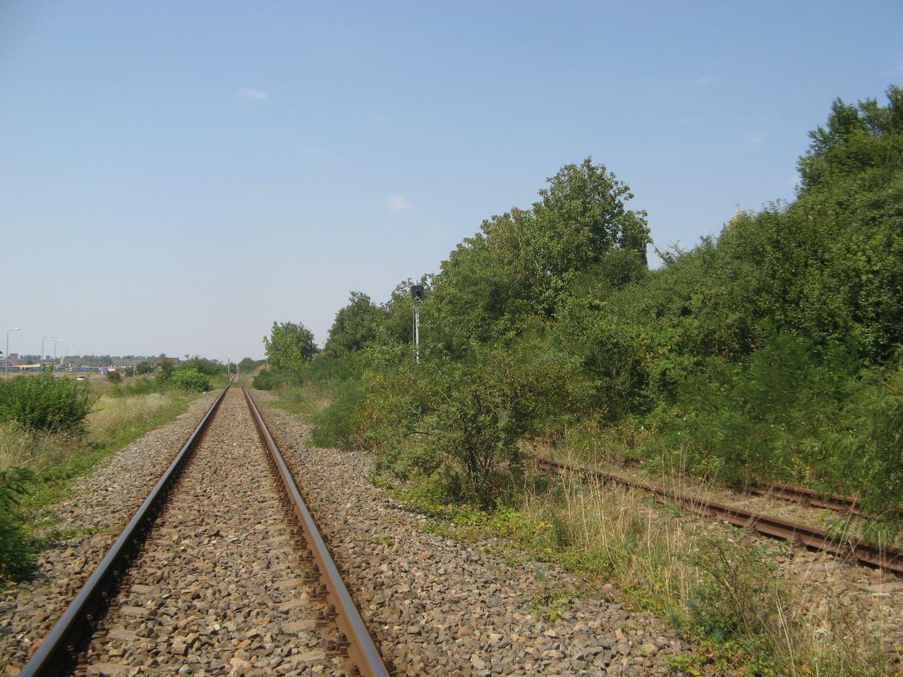Calea ferată directă Oradea Vest - Episcopia Bihor IMG_0053