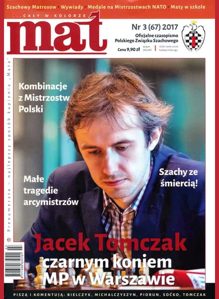 CHESS PERIODICALS :: Czasopismo MAT (Polish Chess Magazine) Mat-67-2017-03