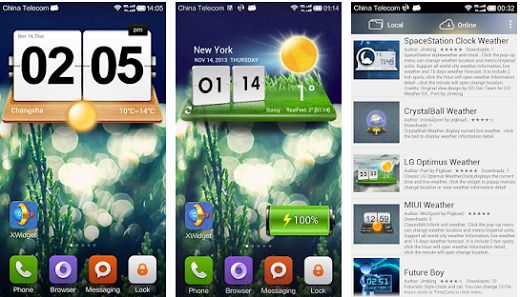 XWIDGET Free for Android v1.4.0 Untitled