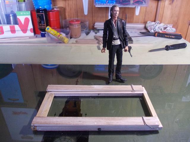Diorama: Taller mecánico clásico, escala 1/10 DSCN6270
