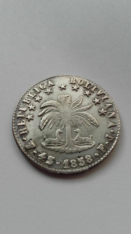 4 soles 1858 Bolivia -Potosi 1477916303672_1005108668