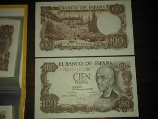 50 billetes correlativos de 100 pesetas de manuel de falla WP_000087