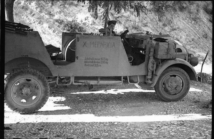Το γερμανικό Steyr 1500  της  Χ  Μεραρχίας του  ΕΔΕΣ Steyr_1500_A2_edes