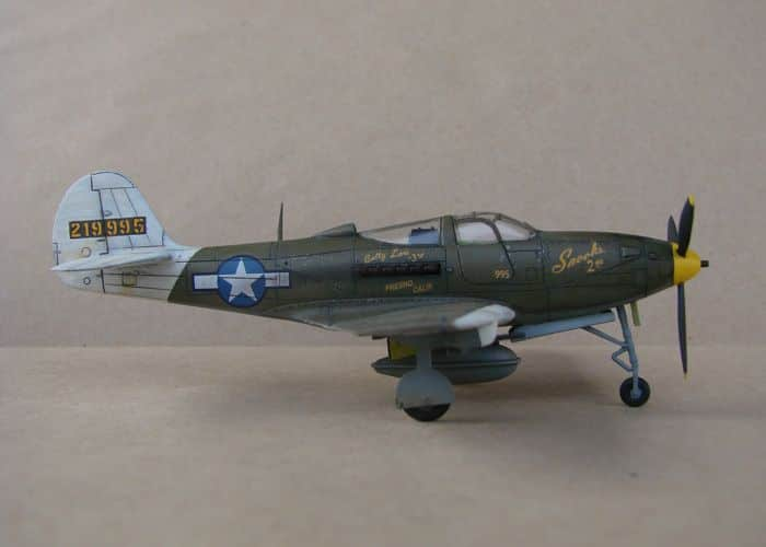 P-39Q Airacobra, 1/72, Academy (rebuild) DSC02937