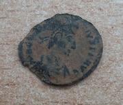 AE3 de Constancio II. FEL TEMP REPARATIO. Soldado romano alanceando a jinete caído. Siscia 20180213_135454-1