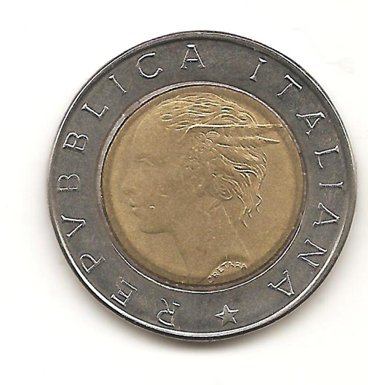 500 Lire. Italia. 1994. Roma  Image