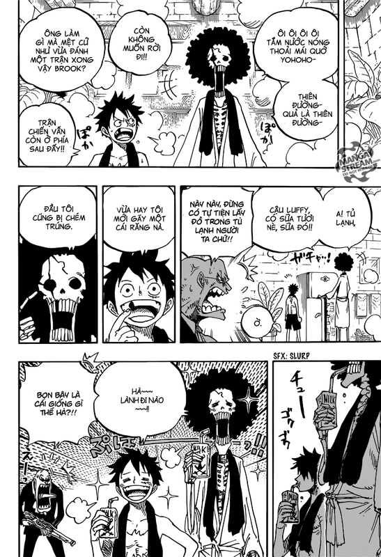 One Piece Chapter 858: Hội nghị Image