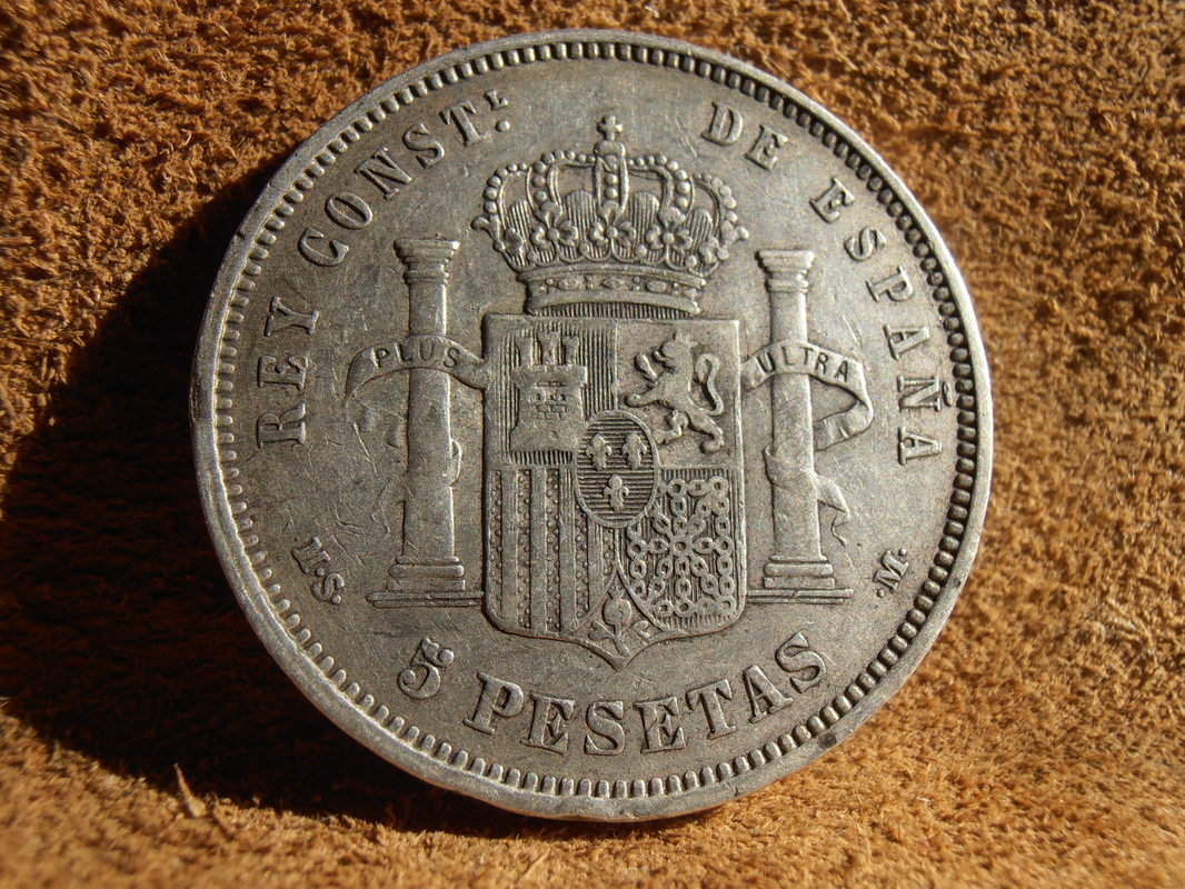 5 Pesetas 1883. Alfonso XIII P4020014