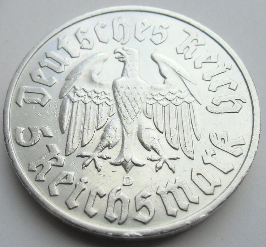 Monedas Conmemorativas de la Republica de Weimar y la Rep. Federal de Alemania 1919-1957 - Página 3 1933b