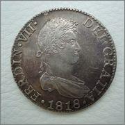 8 Reales F VII , 1818 Sevilla ,pa matar el tiempo !! Image