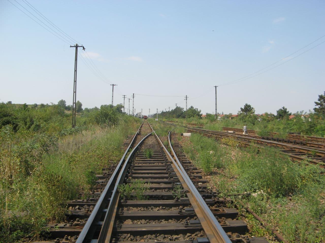 Calea ferată directă Oradea Vest - Episcopia Bihor IMG_0072