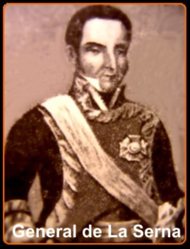 1 Real 1819 Fernando VII- Lima -(Moneda Perforada)  AAA_JOSE_DE_LA_SERNA