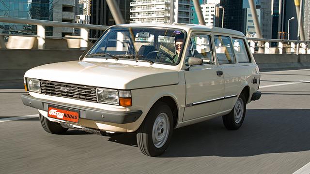 Auto Storiche in Brasile - FIAT Panorama_1981