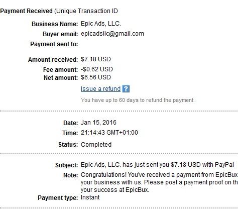 Epicbux - epicbux.com Epicbuxpayment