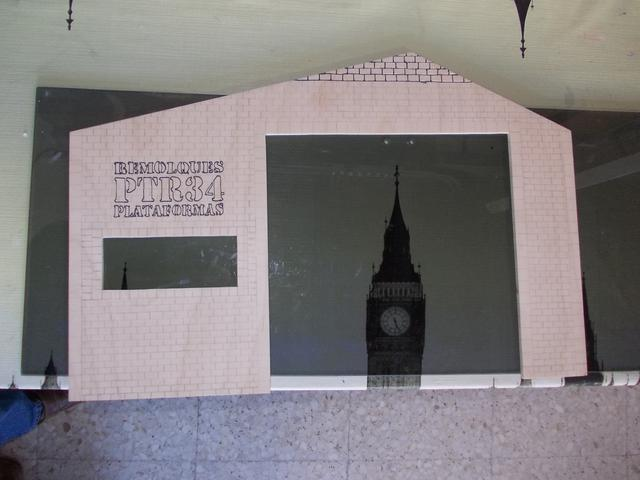 Diorama: Taller mecánico clásico, escala 1/10 DSCN6234