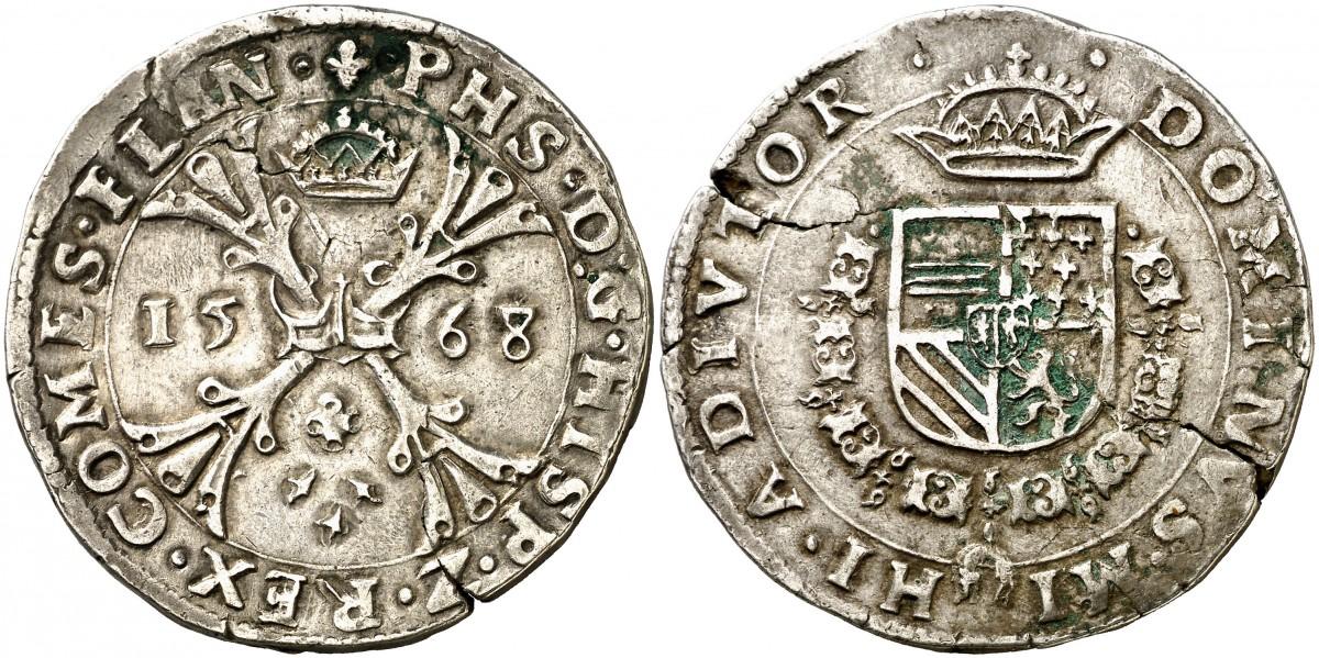 Escudo Borgoña Felipe II Brujas 1568 1_escudo_de_borgo_a_Felipe_II_1568_Brujas_29_33