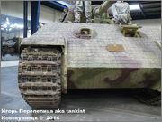 "Немецкий тяжелый танк PzKpfw V Ausf.А  ""Panther"", Sd.Kfz 171,  Musee des Blindes, Saumur, France Panther_A_Saumur_003"