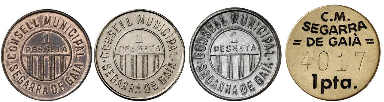 Guerra Civil. Serie completa de Segarra de Gaià incluyendo la de aluminio inédita. SF. - Página 2 0258
