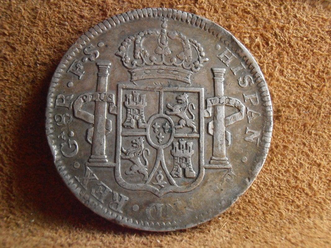8 Reales 1821. Fernando VII. Guadalajara. FS P5140008