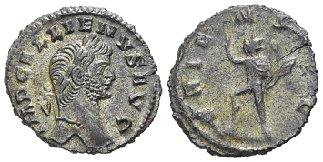 Glosario de monedas romanas. DENARIO DE VELLÓN. Image
