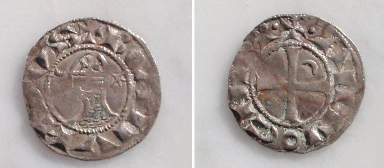 El Principado de Antioquía contado por un dinero de Bohemundo III Antioquia
